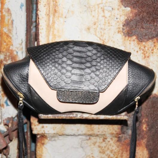 BruceGlen Armadillo Negro Clutch $985 (www.BruceGlen.com)