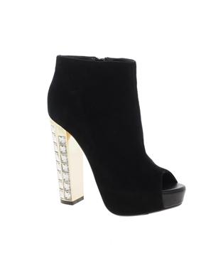 Dune Diamond Peep Toe Ankle Boots $227 (www.asos.com)