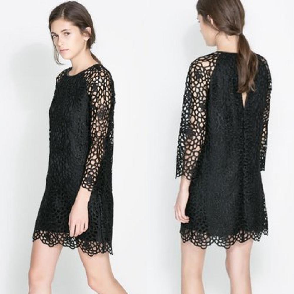 Lace dress $119 (www.Zara.com)