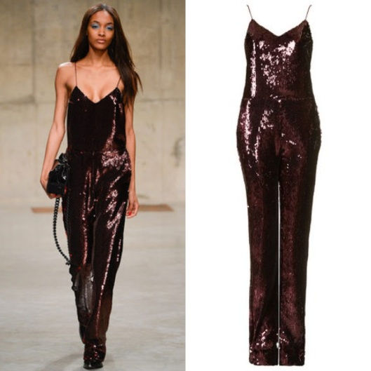 Unique Sequin Jumpsuit $665 (www.Topshop.com)