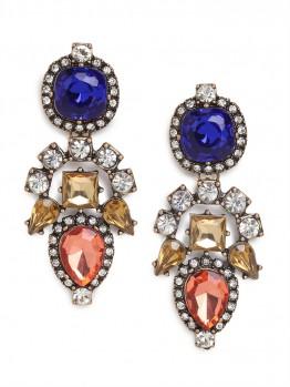 Primary Aztec Drop Earrings $36 (www.Baublebar.com)