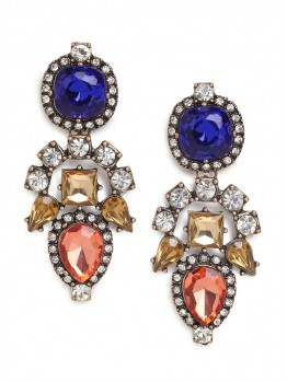 Primary Aztec Drop Earrings $36 (www.Baublebar.com)