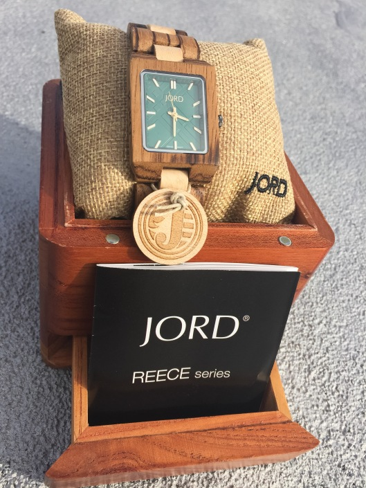 Chrissy Joy Style x Jord Wood Watches